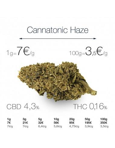 Cannatonic Haze - cogollo CBD