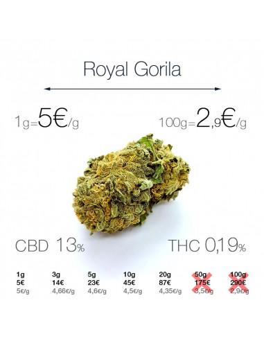 Royal Gorila - cogollo CBD