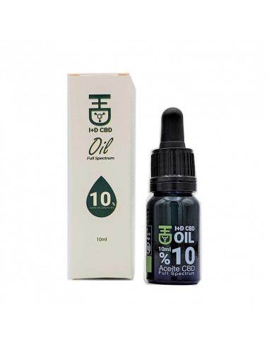 Aceite CBD 10ml. 10%