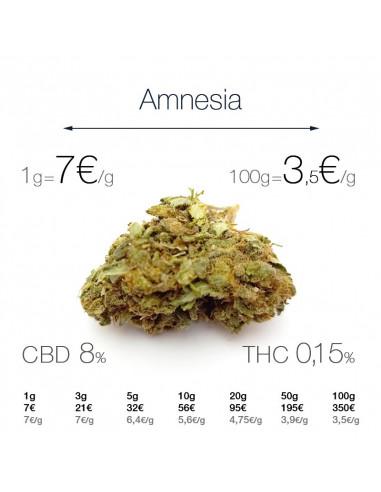 Amnesia - cogollo CBD